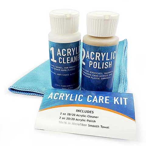 Acrylic/Plastic Cleaning Kit