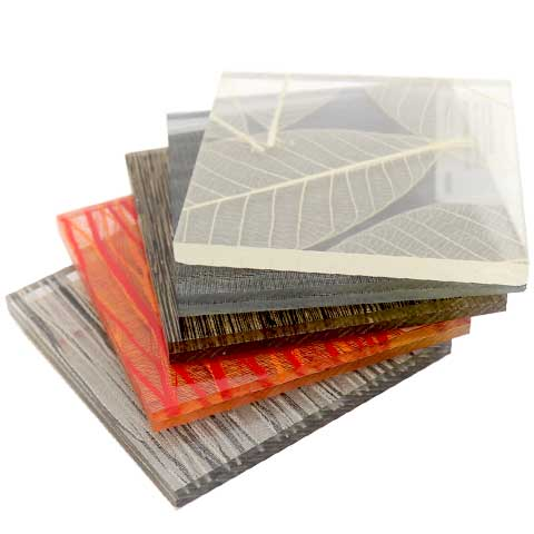 Architectural Resin Sample Sheets