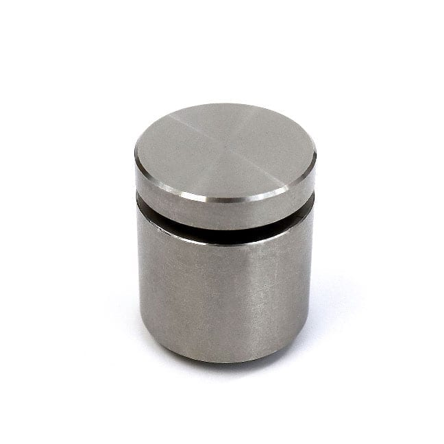 "1"" Diameter Stainless Steel Standoff (3-Part Standoff with M6 Stud-Cap)"