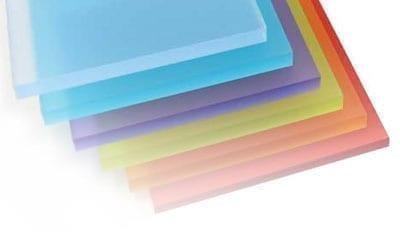Acrylic Sample Sheets