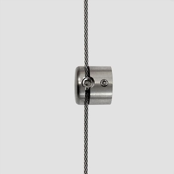 Cable Support for Boss Mount with Screw   #303 Stainless Steel