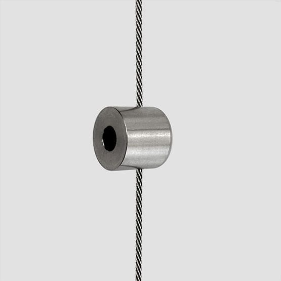 Cable Support for 6mm Diameter Horizontal Rod | #303 Stainless Steel