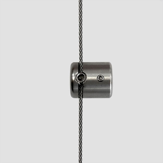 Cable Support for 10mm Diameter Horizontal Rod | #303 Stainless Steel