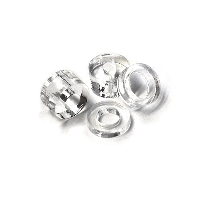 16mm (5/8″) Diameter Clear Acrylic Spacer for Sign/Panel Standoff Supports