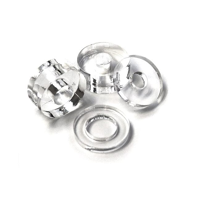 20mm (3/4″) Diameter Clear Acrylic Spacer for Sign/Panel Standoff Supports