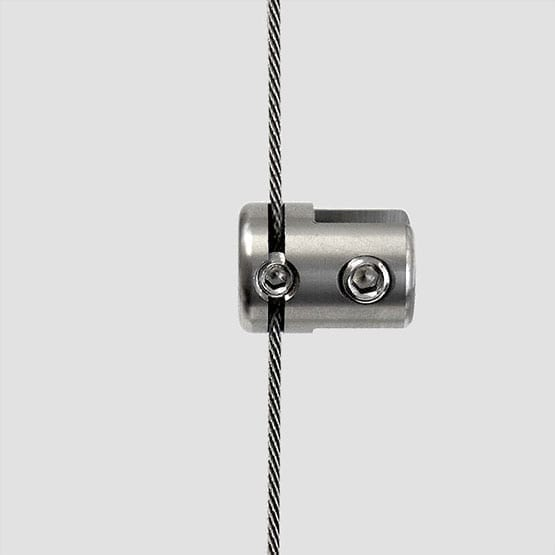 Panel Support Single-Sided for Cable System | #303 Stainless Steel