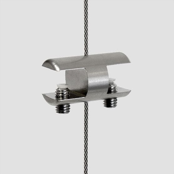 Shelf Support Double-Sided for Cable Systems | #303 Stainless Steel