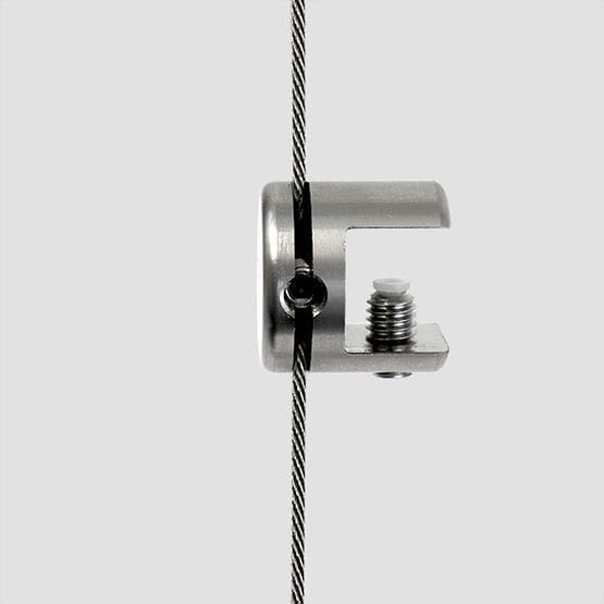 Shelf Support Single-Sided for Cable Systems   #303 Stainless Steel