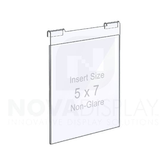 Non-Glare Hook-on Acrylic Pocket / Photo Holder
